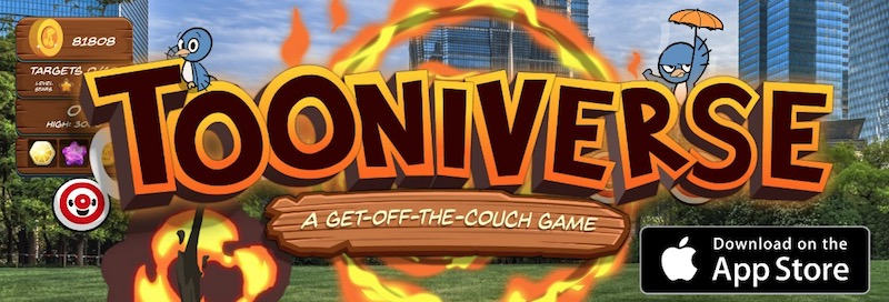 Tooniverse FREE ARKit Augmented Reality Game for iOS11