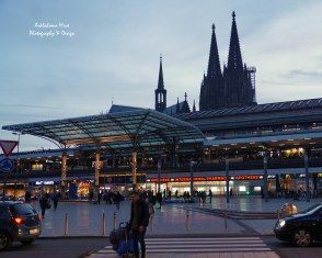 Cologne Cathedral and train station as seen from in front of our hotel - BEST location!