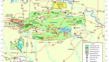 Ozark Forest Recreation Map | Arklahoma Hiker