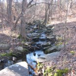Intermittent stream at about 1.3