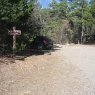 Corley Trailhead of the Mount Magazine Trail