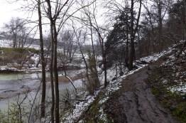 Withrow Springs: War Eagle Trail Snow Photos 2013 photo