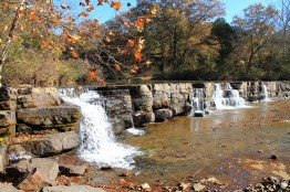 Natural Dam Falls (Ozark Forest) photo