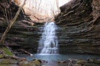 Compton's Double Falls, Amber Falls, Owl Falls (Ozark Forest) photo
