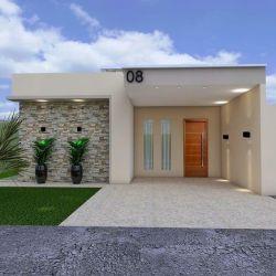 Fachadas de Casas Modernas: 38 Projetos Incríveis para 2020