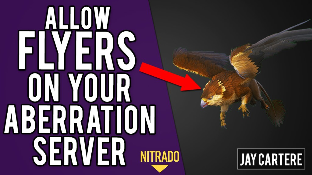 How To Allow Non Aberration Dinos / Flyers On Your ARK Aberration Server - ARK PS4 Server Tutorial