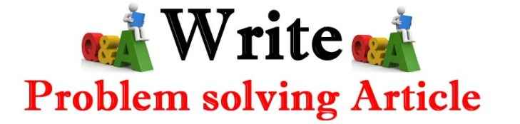 Writing problem solving content rank faster on Google