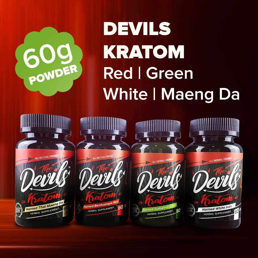 Devils Kratom Powder 60g