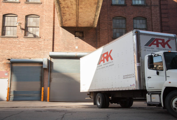 Ark truck providing expedited shipping