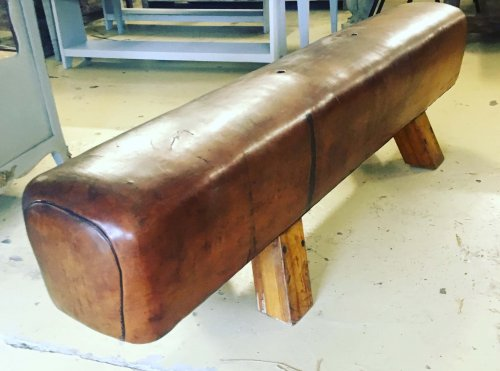 pommel horse, bench, industrial seating