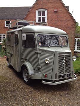 Vintage delivery