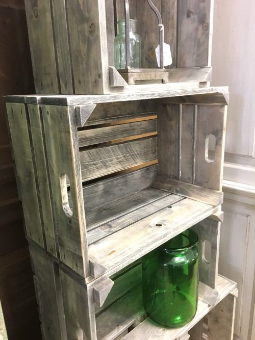 crate bushel boxes reclaimed wood vintage camberley surrey vintage antique shop buy online and instore