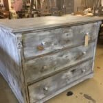 chest of draws, vintage, painted