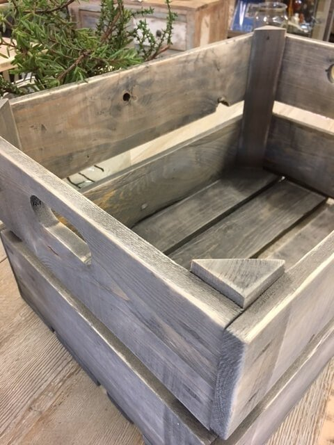 crate bushel box reclaimed vintage