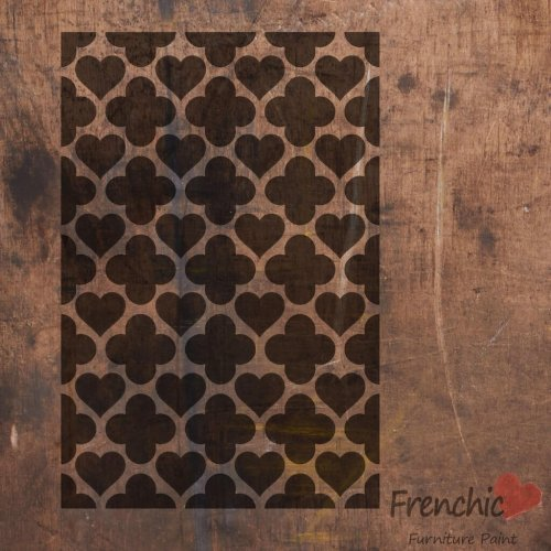 Frenchic Hearts Of Morocco Stencil