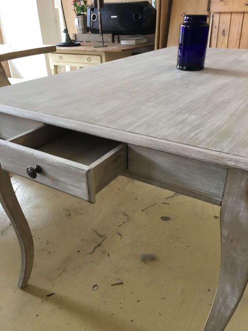 Dining table, vintage French style. 140x80cm