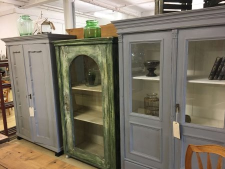 Display units book cases. The pictures are indicative of the style, we have 12 to choose from right now. vintage french cabinets cupboards