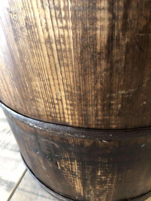 Vintage Wooden Buckets wood bucket rice water well old original