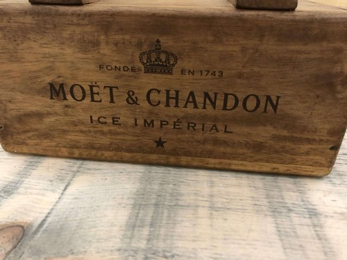 Printed box with lid vintage camberley surrey