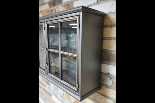Metal 3 Door Wall Cabinet