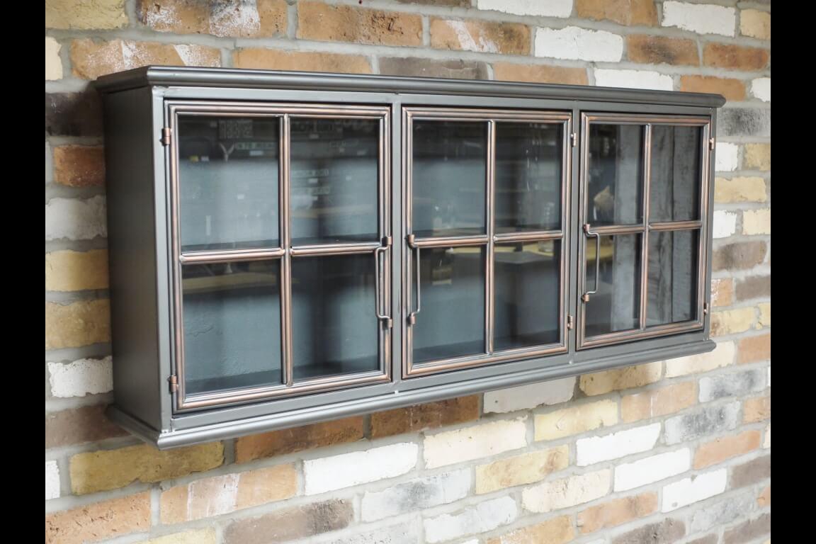 Metal 3 Door Wall Cabinet