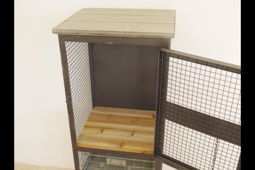Metal Cabinet With Drawers
