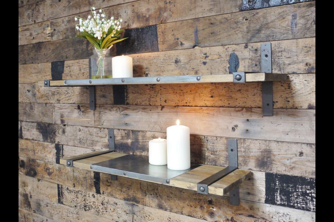 Excellent Industrial Style Shelves — Ark Vintage - Vintage, Retro, Urban  NB07