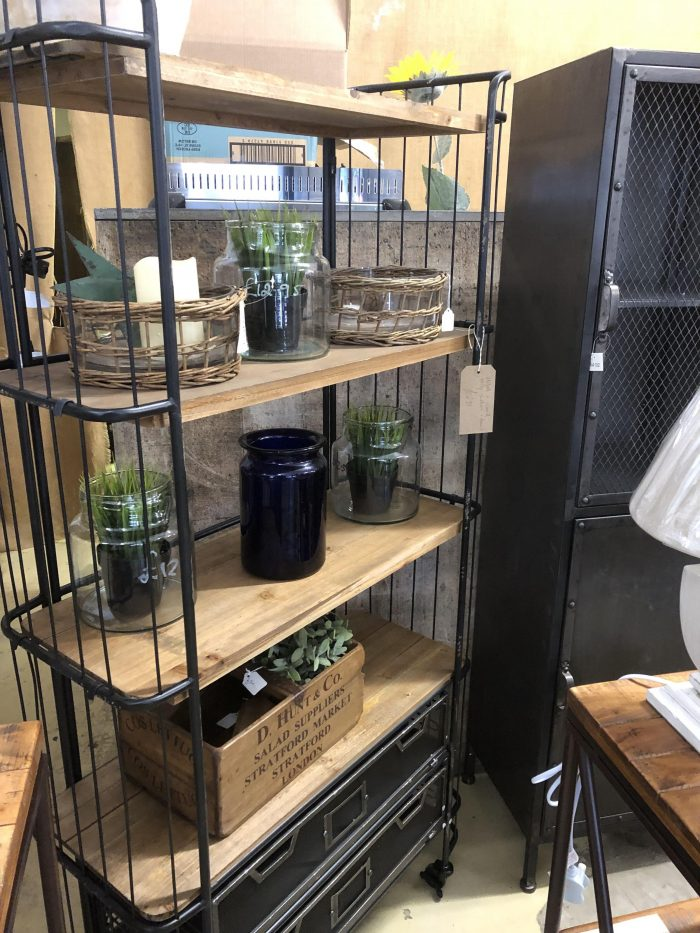 New arrivals vintage antique industrial furniture interiors surrey camberley arkvintage @arkvintagecamberley metal trolly shelf unit