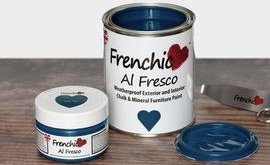 250ml dinky dinkies Frenchic Al Fresco Steel Teal