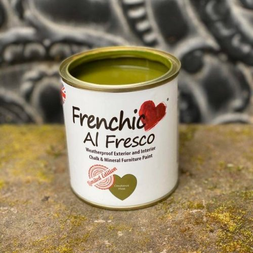 DIY Paint Painting finish green Constance Moss