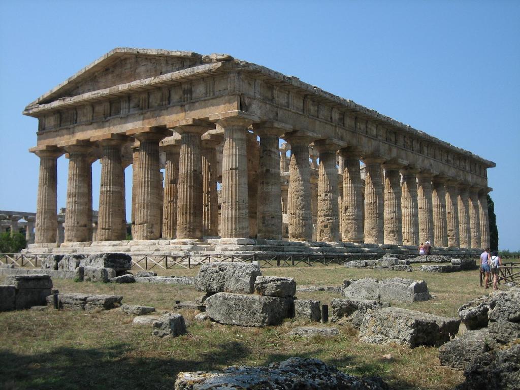 Templo de Hera en Paestum - 440 AD