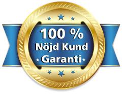Bild på 100% städgaranti, städfirma i Umeå med städgaranti