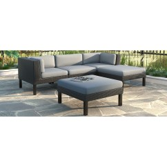 Sofa Lounger Outdoor Microfiber Power Reclining Sectional 5pc With Chaise Lounge Patio Set Arlene S Interiors Furniture