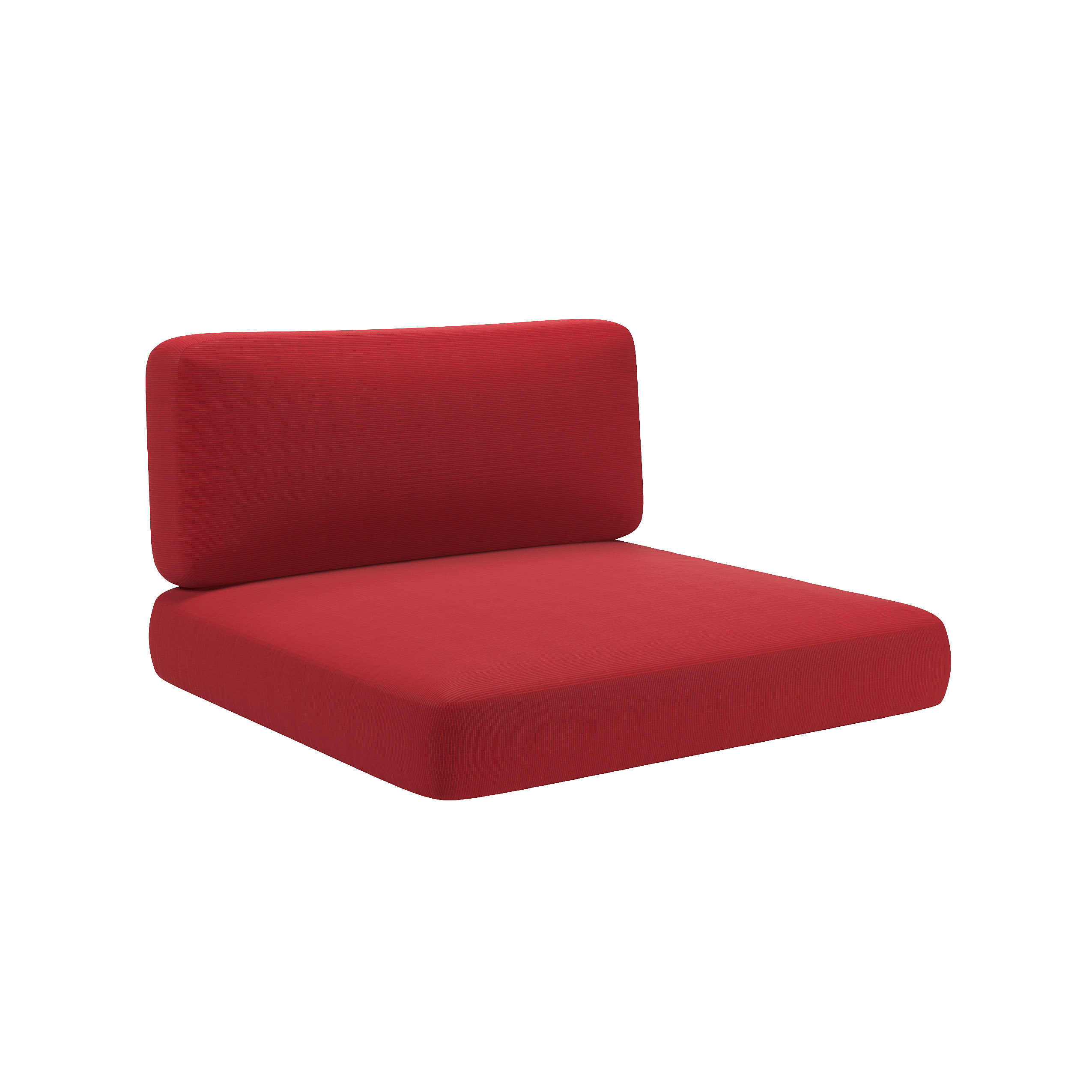 Patio Chair Replacement Cushions Patio Chair Replacement Seat Cushions Red 2pc