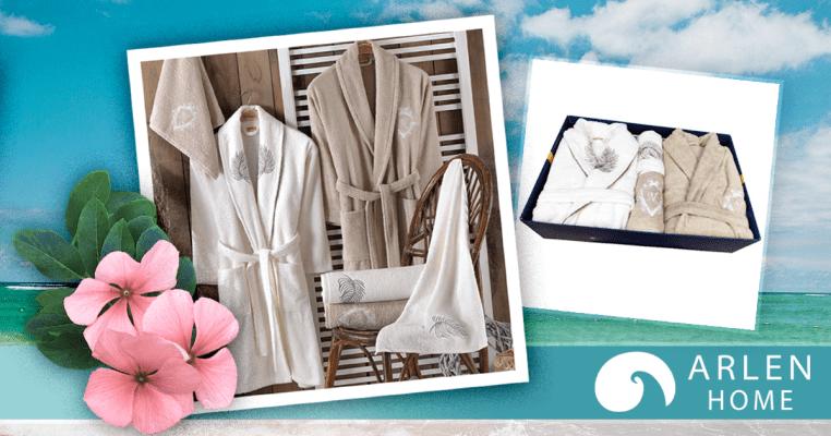 луксозни халати за баня комплекти