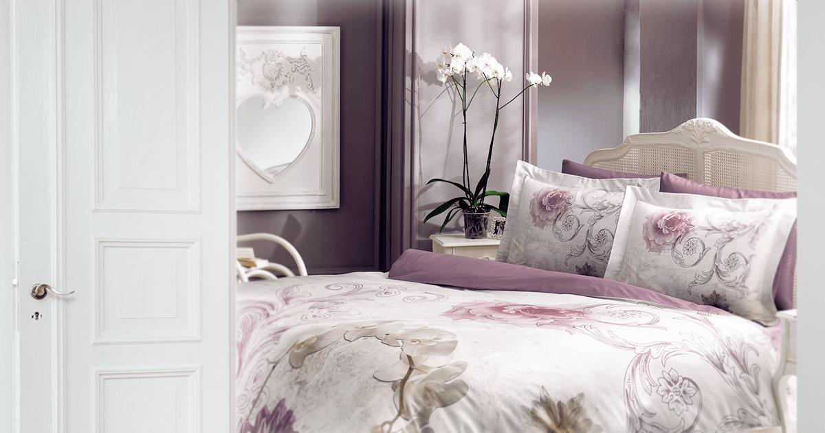 Луксозна кувертюра за спалня с модерен десен