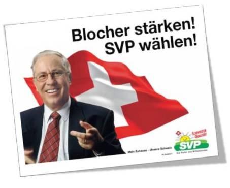 Herr Blocher und die entwendeten Bankdaten