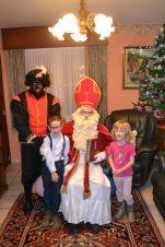 Sinterklaas bij oma en opa