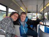 Met de bus door Inverness