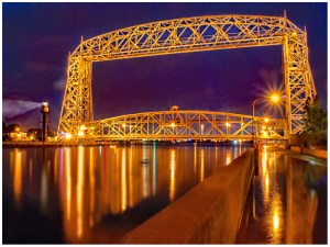Duluth Harbor Bridge - Larry Arends