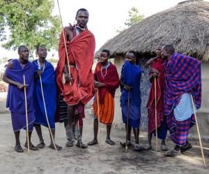 Eva Waycie - Maasai People