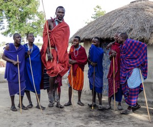 Eva Waycie - Maasai People