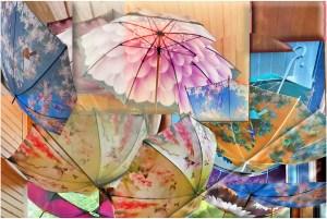 Bob Reynolds - Umbrella Abstract