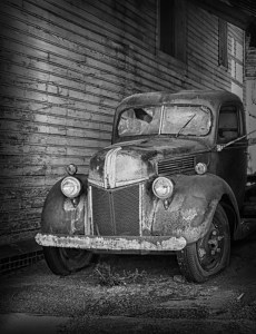 Old Truck in Barn - Carol Arnolde