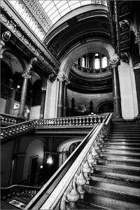 "Bill Foulks - ""Regal Stairs"""