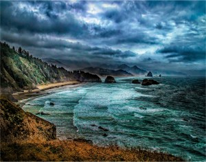 "Larry Arends - ""Angry Cannon Beach"""