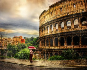 "Larry Arends - ""Rome in the Rain"""