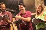 Darius Eslami, Steve Atwater, and Abby Seidel