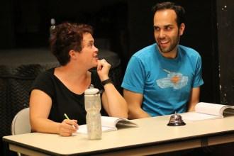 Katie Pickett and Darius Eslami