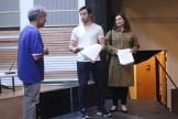 Lou Fuoco as Hotel Clerk; Dominic and Karen